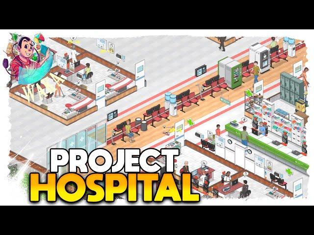 BACTÉRIA OU VÍRUS? | Project Hospital #05 - Gameplay PT BR