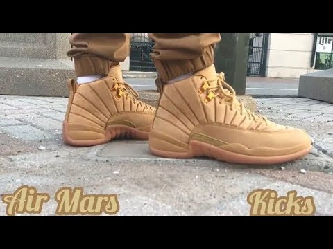 new product 6cb43 20393 Air Jordan 12 PSNY Wheat Review & On-Feet (100% Authentic)