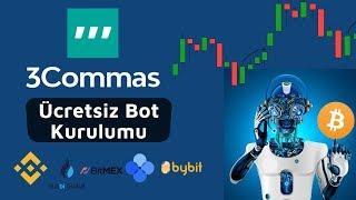 3commas Bot Ayarları; Otomatik Kripto Para Al Sat Stratejisi