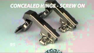 Concealed Hinge - Blind Corner