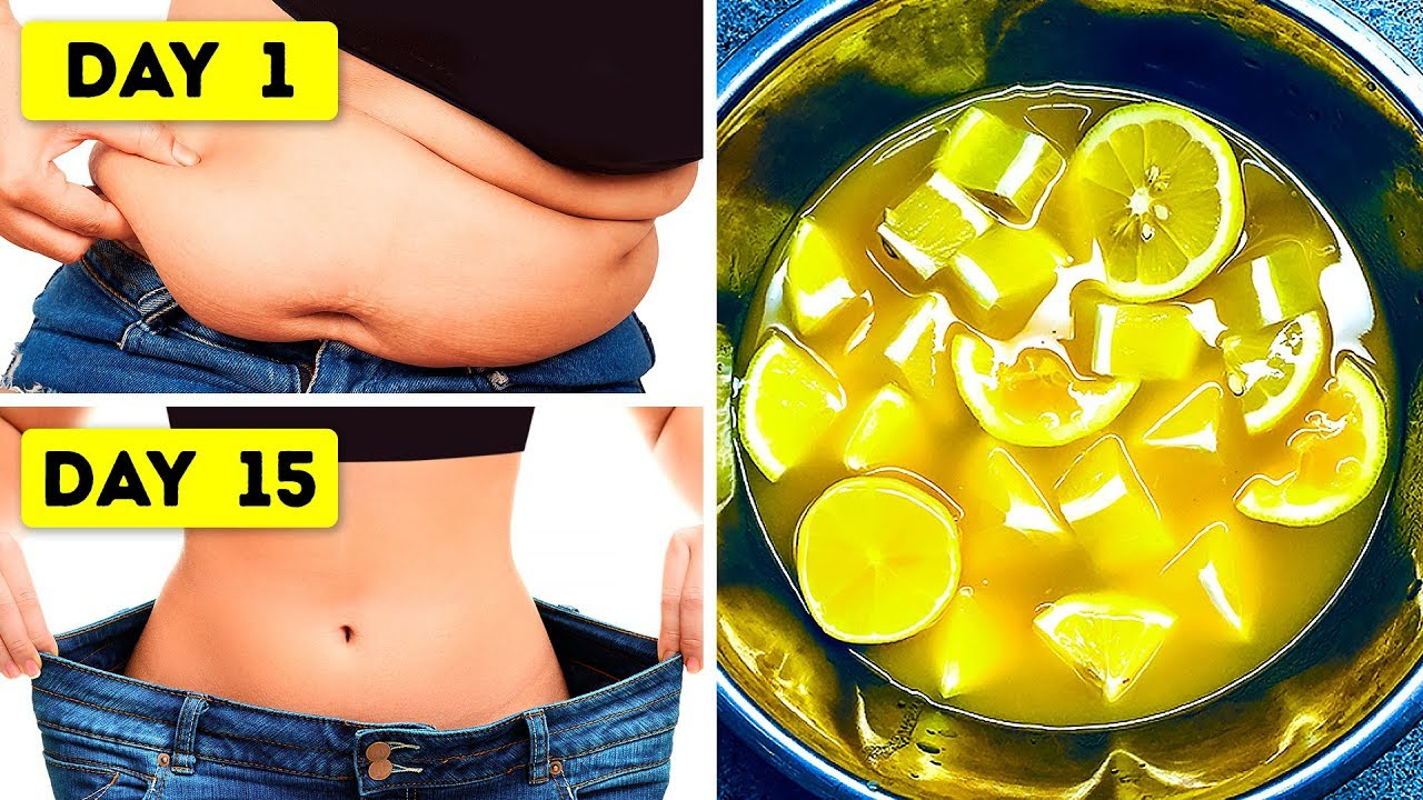7 days lemon detox diet