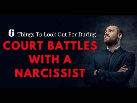 6 Things To Look Out For During Court Battles With A Narcissist