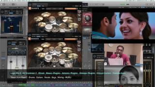 NAANI KONI RAANI (Tamil) - Drums & Guitar Cover