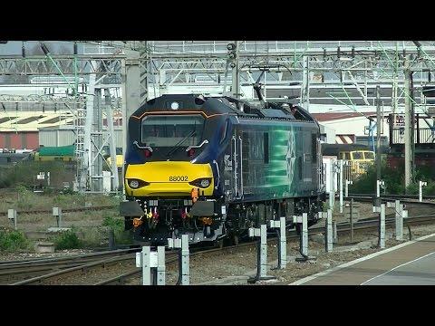 Direct Rail Services 88002 First Mainline Test Run - 0Z88/0Z89 - 27/03/17