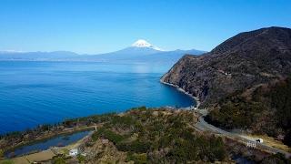 2017 絶景空撮・西伊豆駿河湾の富士(4K) Fantastic Aerial Shot Of Mt. Fuji At West Izu(UHD)