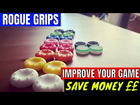 IMPROVE YOUR GAMING AND SAVE MONEY £££-  Rogue Grips Review
