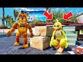 HARDEST FNAF HIDE N SEEK ANIMATRONIC EDITION! (GTA 5 Mods For Kids FNAF RedHatter)