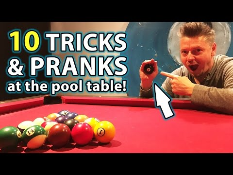 Thumbnail: TOP 10 Pool TRICK Shots and PRANKS!!