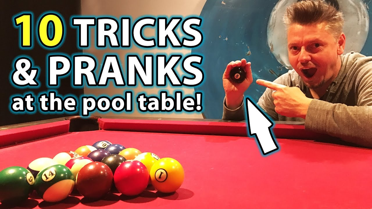 Top 10 pool trick shots and pranks youtube - Awesome swimming pool trick shots ...