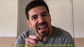 SERGIO ÁLVAREZ - Monólogo Narco
