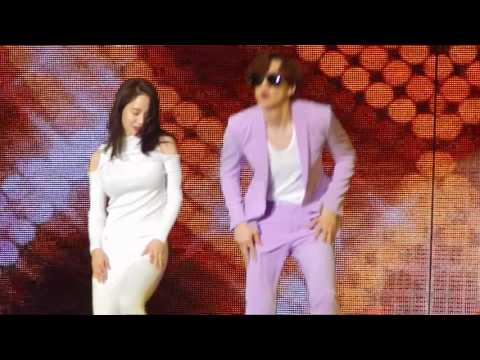 170325 宋智孝(Song Ji Hyo)&李光洙(Lee Kwang Soo) Couple Dance( Who's Your MaMa)@RMFM in HK