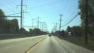 US Route 13 in Bucks County 100% (With Road Construction!!) [4x]