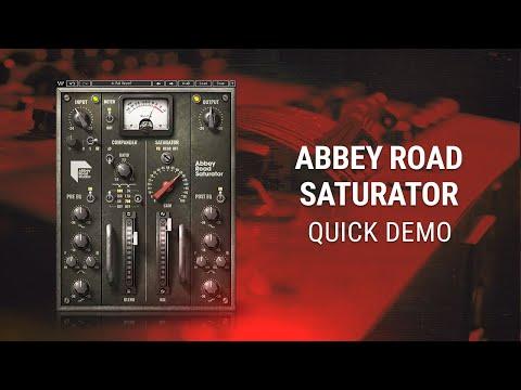 Waves Abbey Road Saturator Plugin – Quick Demo