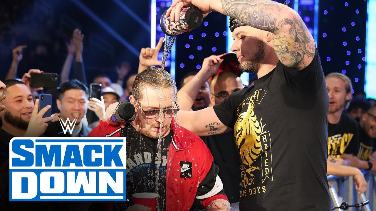 Download Roman Reigns ends King Corbin's tirade with Steel Cage Match challenge: SmackDown, Feb. 7, 2020