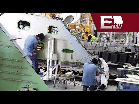 Bombardier Aerospace pone a México en la escena de la industria aerospacial/ Hacker Paul Lara