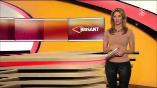 Repeat youtube video Mareile Höppner - Brisant HD - 29.01.2015 - Black Tight Leather Pants & Beige Heels