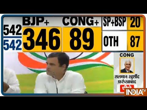 Lok Sabha Election Results 2019 | Rahul Gandhi Congratulates PM Modi & Smriti Irani