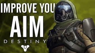 Destiny || Using The Right Aiming Sensitivity To Improve Aim