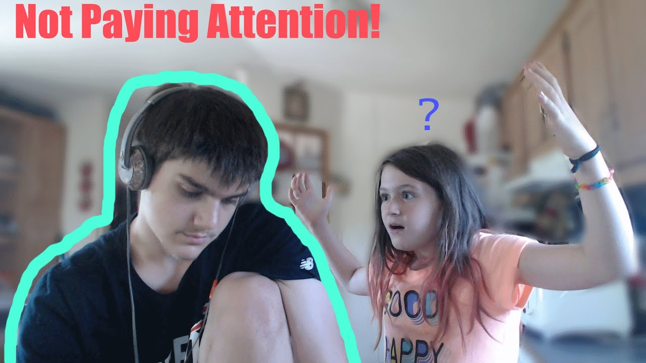Not Paying Attention! - YouTube