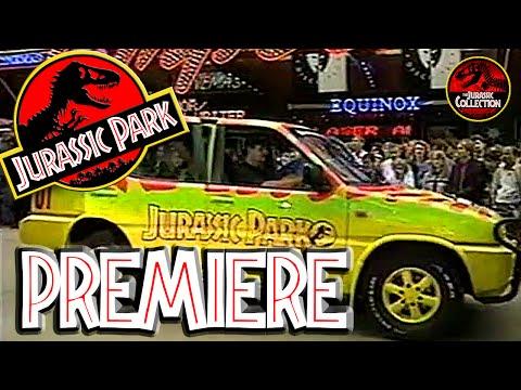 JURASSIC PARK | Royal Premiere | Sam Neil Interview | 1993