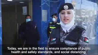 Women officers undertake vital work across Jordan