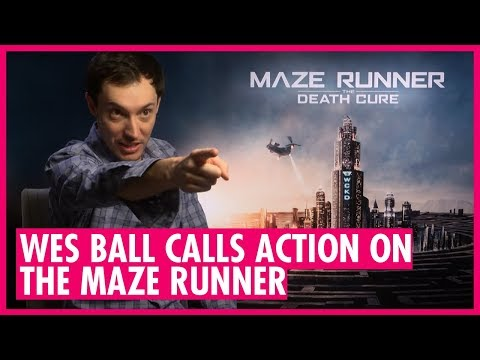 Maze Runner Director Wes Ball   Stunts, Set Pieces and Dylan O'Brien