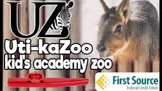 Uti-kaZoo Kid's Academy: Food Webs ft. Patagonian Cavies