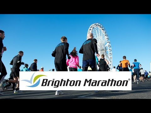 Brighton Marathon 2017. It was hot as hell but the crowds cheered us on to the finish.
