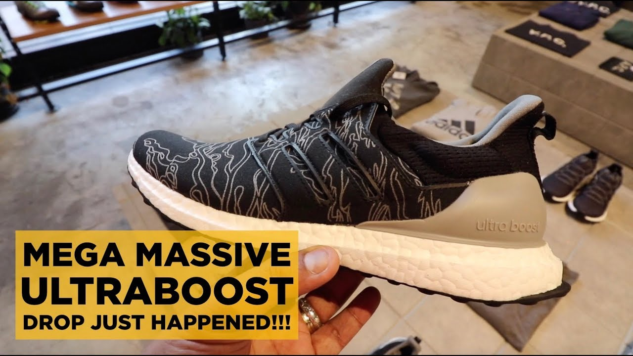 9ffbbd034 ADIDAS ULTRA BOOST MEGA DROP!!! (WHAT JUST HAPPENED) - YouTube