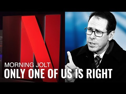 Who's Right: AT&T's CEO or Netflix Stock?