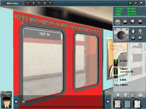 Trainz:Operating the 149 Street shuttle in both direction And to Deadheading 242 Street yard