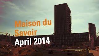 University of Luxembourg in Belval : Maison du Savoir, April 2014