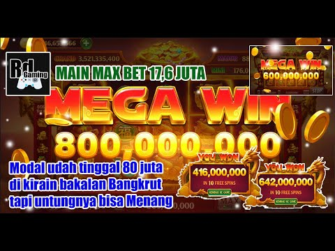 Mega Win !!! Main Max Bet Modal 200M Jadi 1.7B │Higgs Domino Indonesia
