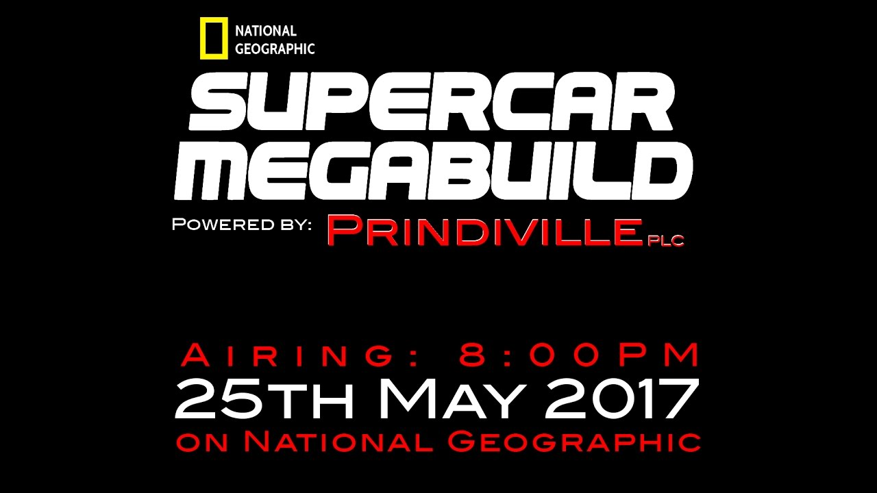 Supercar Megabuild London Airing May Youtube