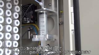 可搬型温室効果ガス自動採取装置アグス(AGSS)JP