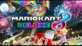 MARIO KART 8 DELUXE EARLY GAMEPLAY VS THINKSWIFE!!! | Nintendo Switch
