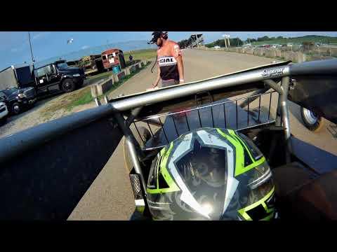 Chase Stockon - USAC ISW19 Lawrenceburg Speedway Qualifying