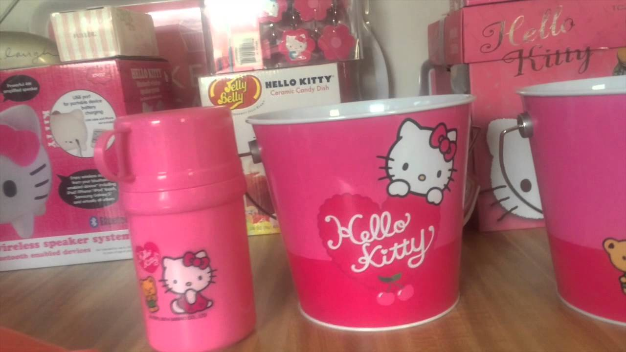 Mi hello kitty coleccion de cocina youtube for Utensilios de cocina hello kitty