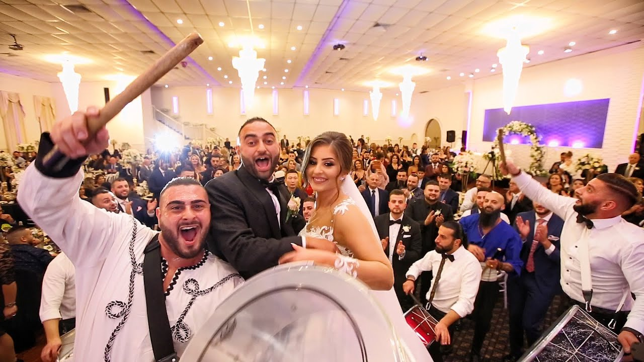 Lübnan Düğünü - Gelin ve Damat Girisi - Yer - Avustralya