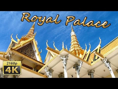 The Royal Palace and Wat Preah Keo in Phnom Penh - Cambodia 4K Travel Channel