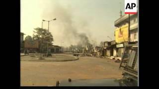 Hindu mob burns Muslims as they sleep, 27 killed
