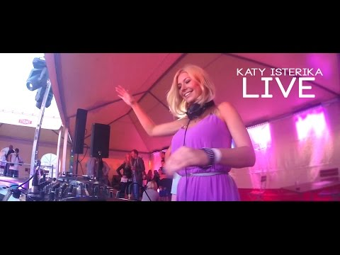 "Katy Isterika ""Live"" @ Ocean Grooves 2015 (Deep House,House) Mix / Set"