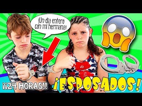 ¡¡RETO 24 HORAS ESPOSADOS!! (I) 😯RUTINA De MAÑANA De VERANO: Desayuno, Ducha,...