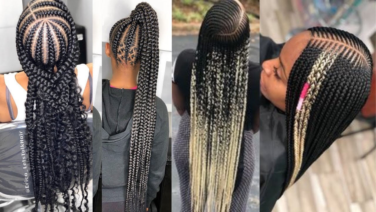 Download COIFFURE PROTECTRICE CHEVEUX CREPUS & AFRO - TRESSES AFRICAINES | TRENDY BRAIDS HAIRSTYLES FOR 2021