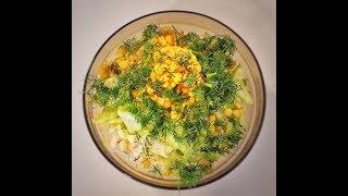 Весенний Салат Из Пекинской Капусты. Худеем легко и вкусно.