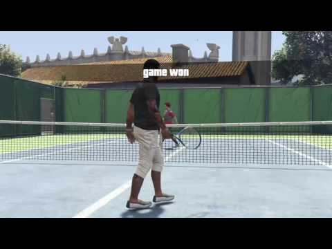 Playing Tennis & Golf On GTA 5 The Impossible ( Show Time )