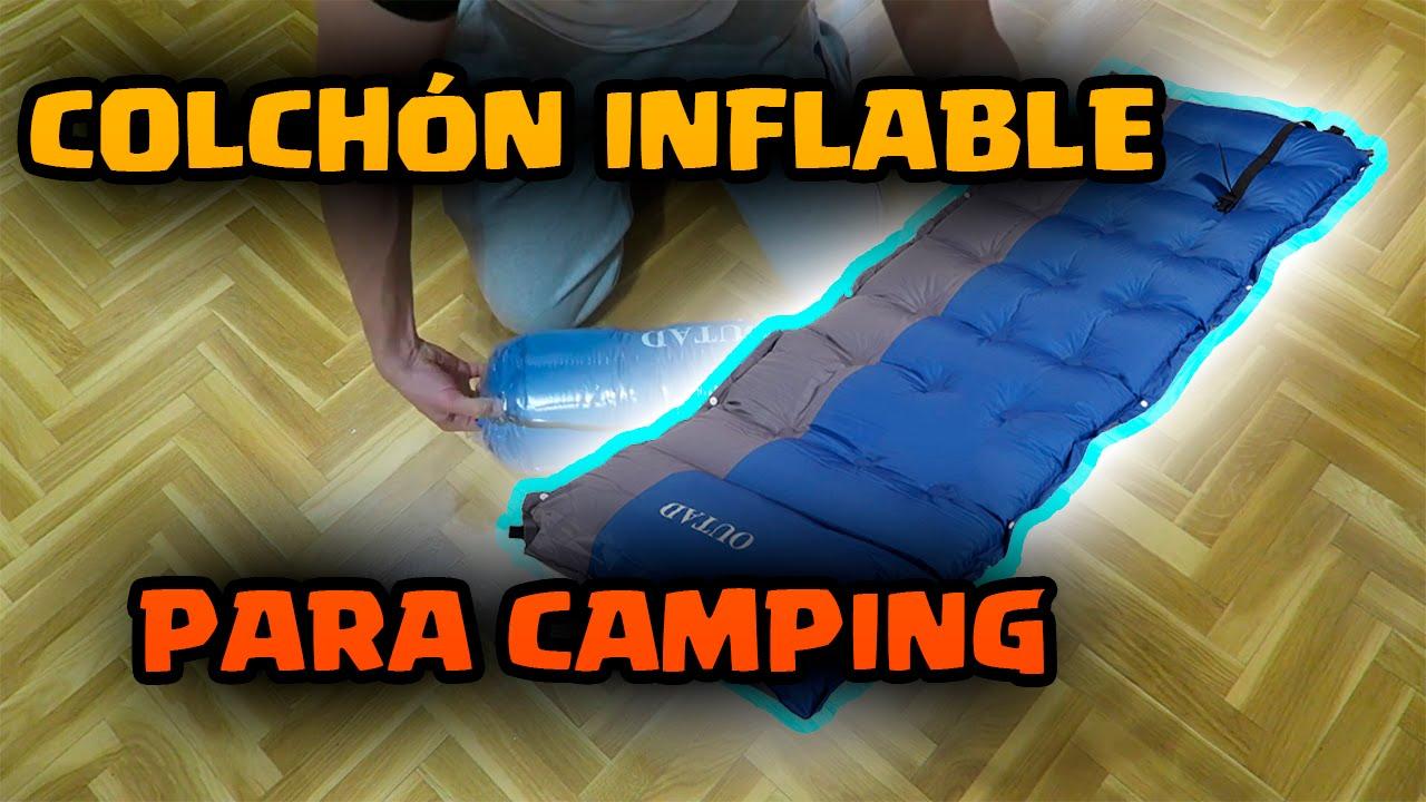 Colchones Para Camper.Analisis Colchon Inflable Para Camping De Outad