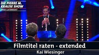 Filmtitel raten mit Kai Wiesinger – Extended Version