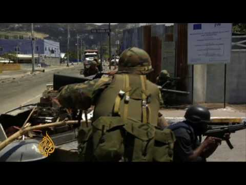 Jamaica police storm Kingston neighbourhood