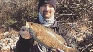 Smallmouth bass catch on Guntersville Lake GoPro Quik